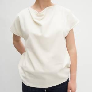 Tee shirt Col Bénitier