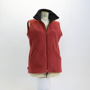 Sleeveless Zip Jacket