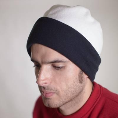bonnet réversible tour de cou